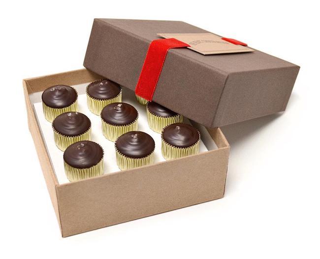 The Velvet Chocolatier caramel cups