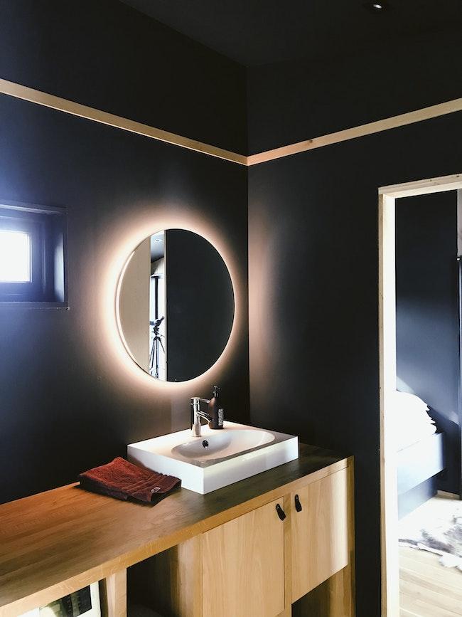 integrated bathroom lighting