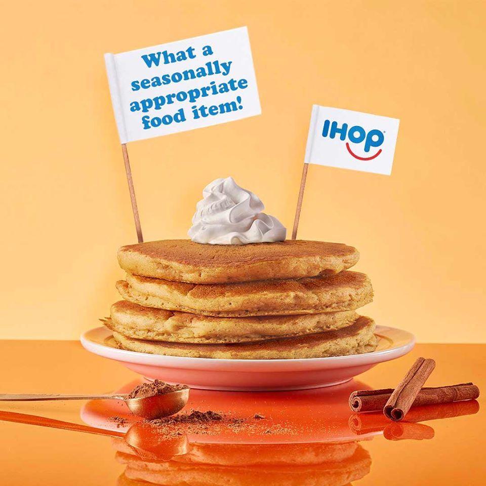 pancakes, IHOP