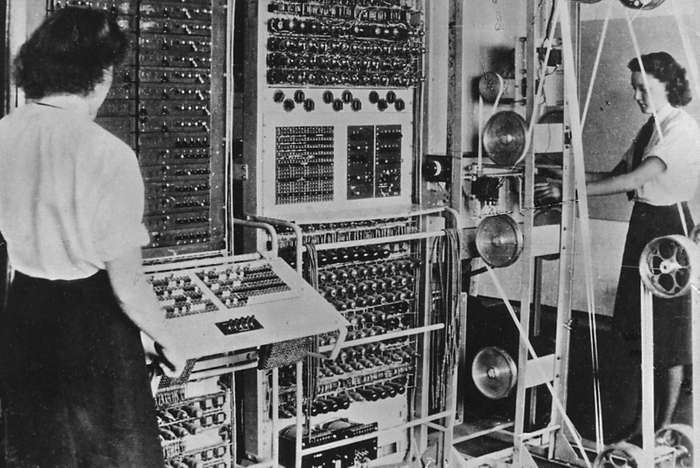 Colossus, the first computer, created in 1943