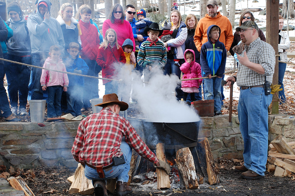 maple syrup demonstration