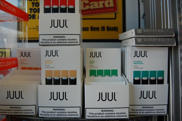 flavored juul pods
