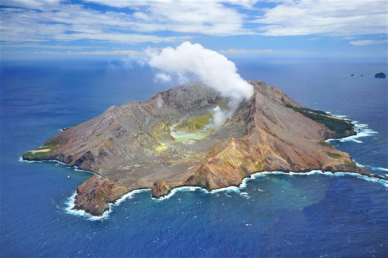 volcano, eruption