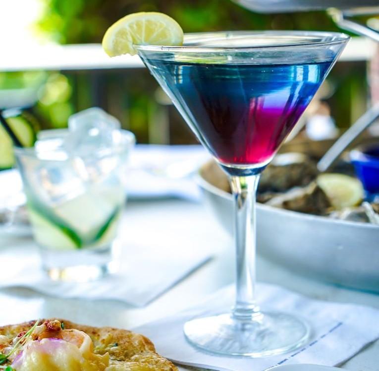 cocktail, Blueberry Cosmopolitan