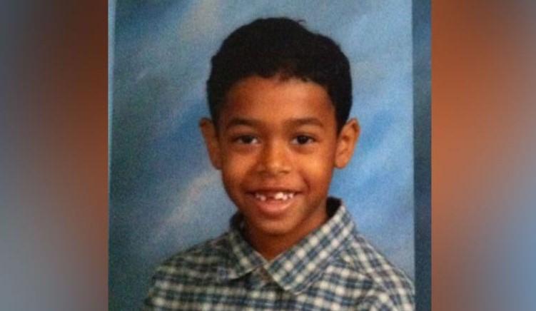 Eight year old school photo