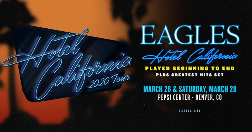 Eagles, Hotel California Tour in Denver