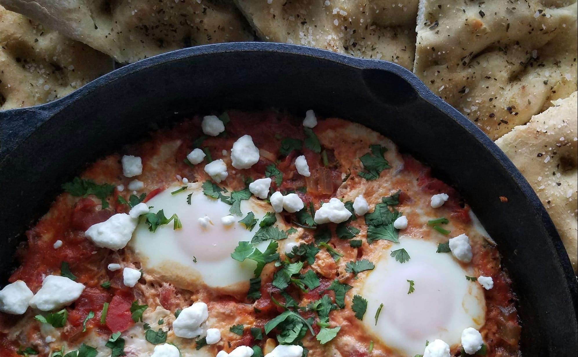 shakshuka, eggs