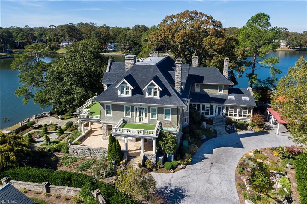 mansion, house