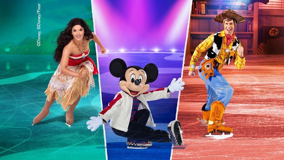 Moana, Mickey, and Woody