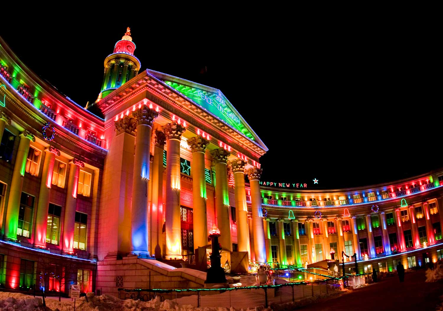 Claim To Fame Denver Invented Outdoor Christmas Lighting In The Early 1900s