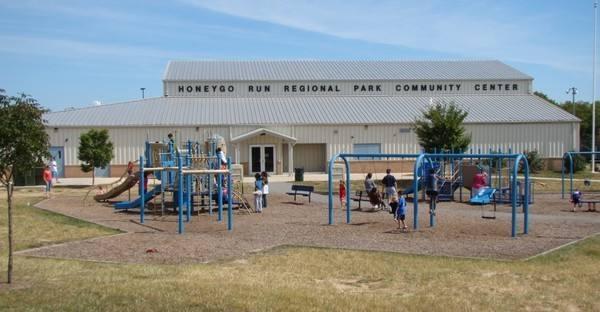 Honeygo Run Regional Park playground