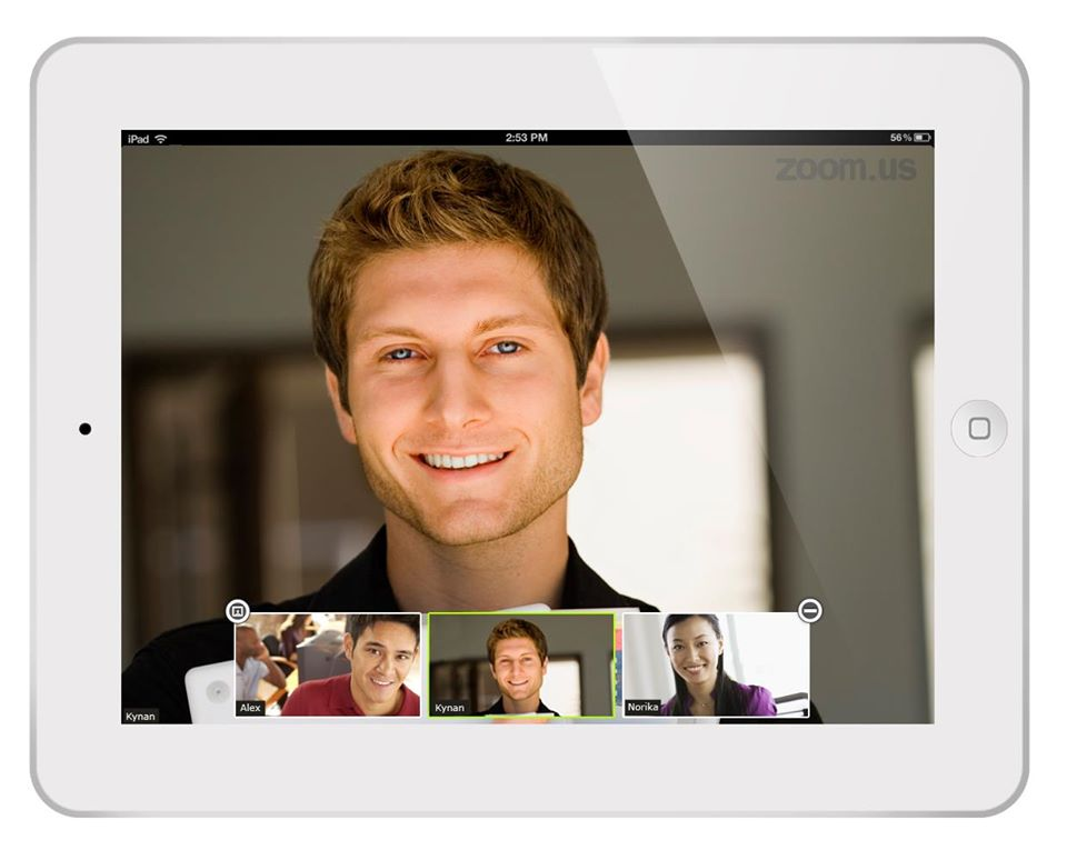 Zoom, video conference