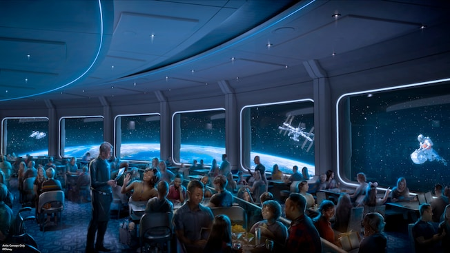 Mission Space restaurant