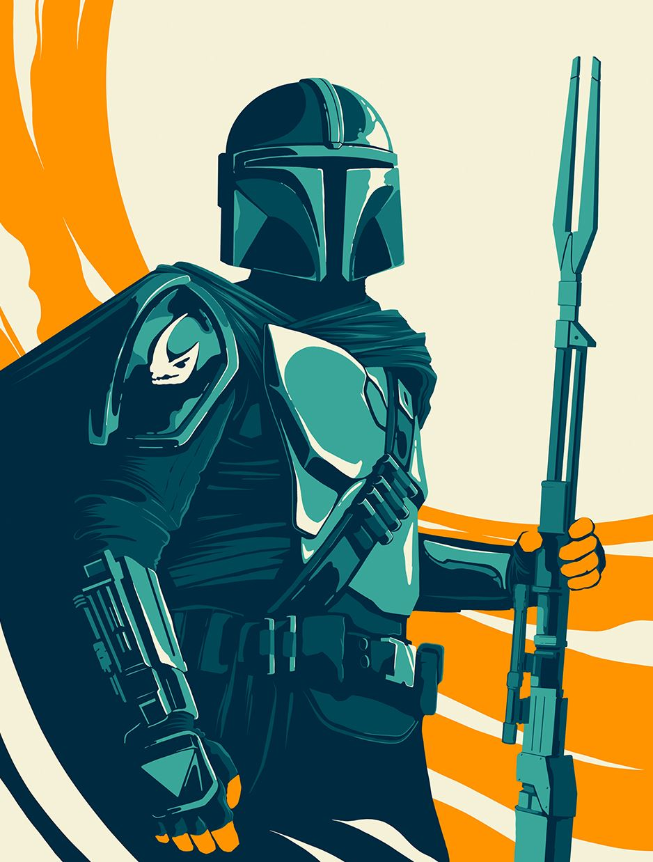 The Mandalorian, Society6, Matt Kehler