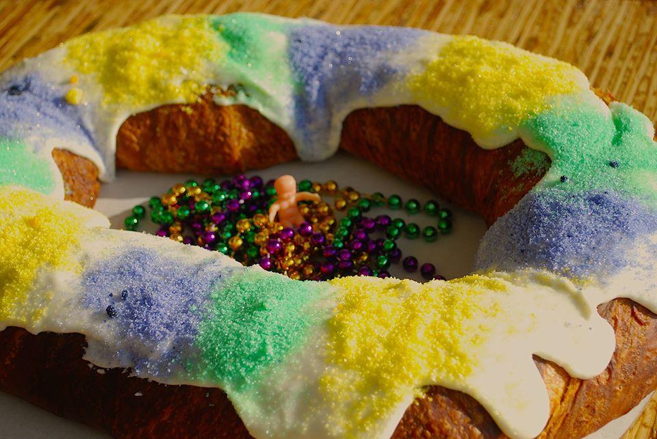 Bayou Bakery, king cake