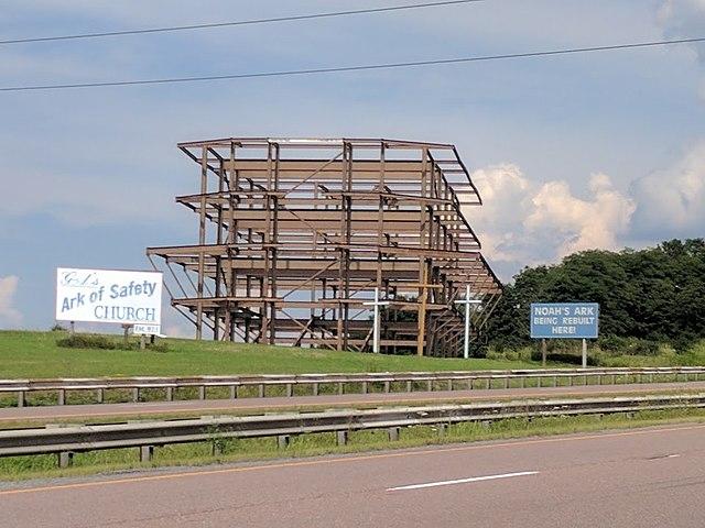 noah's ark being rebuilt