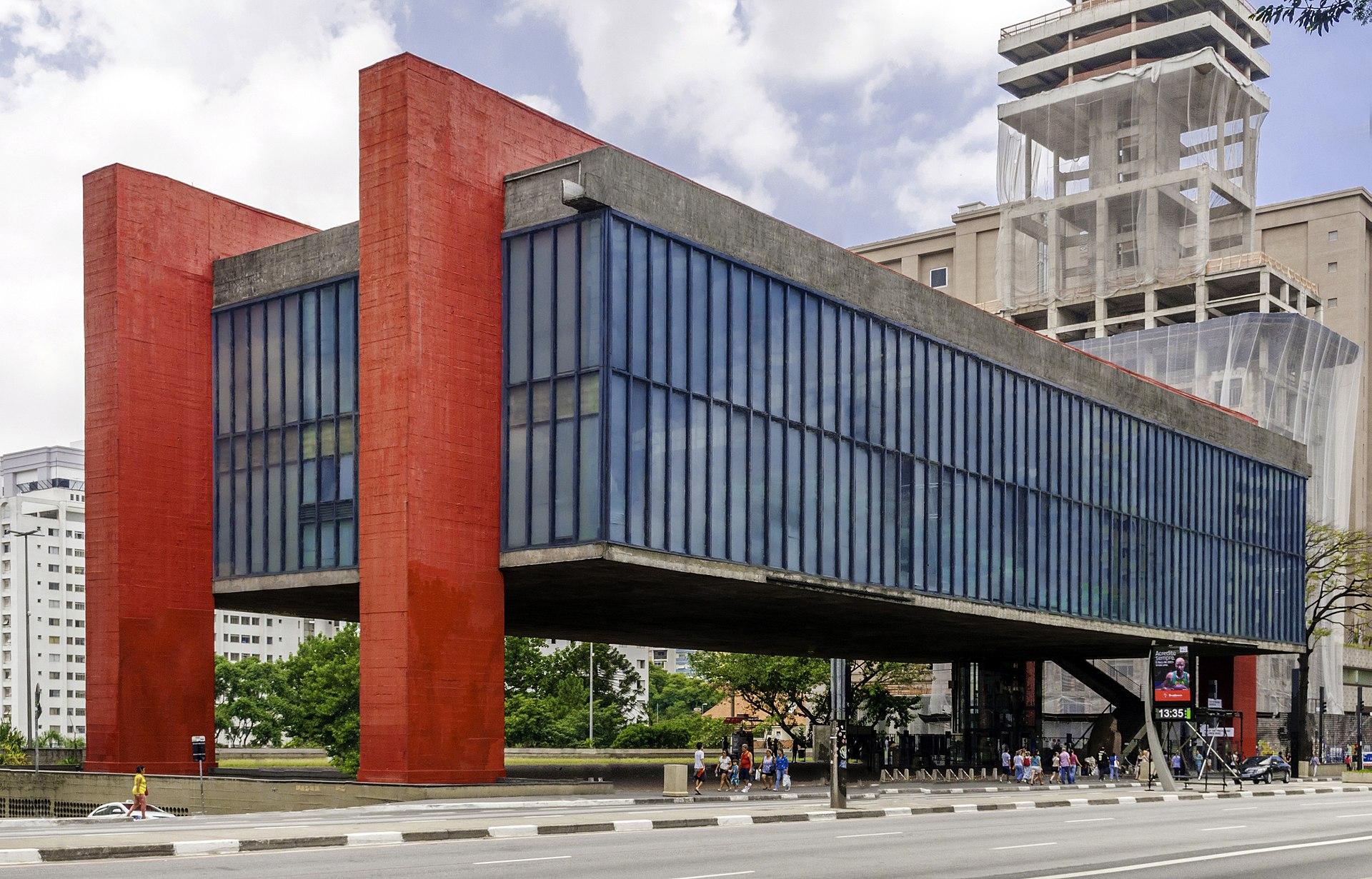 MASP museum in Brazil