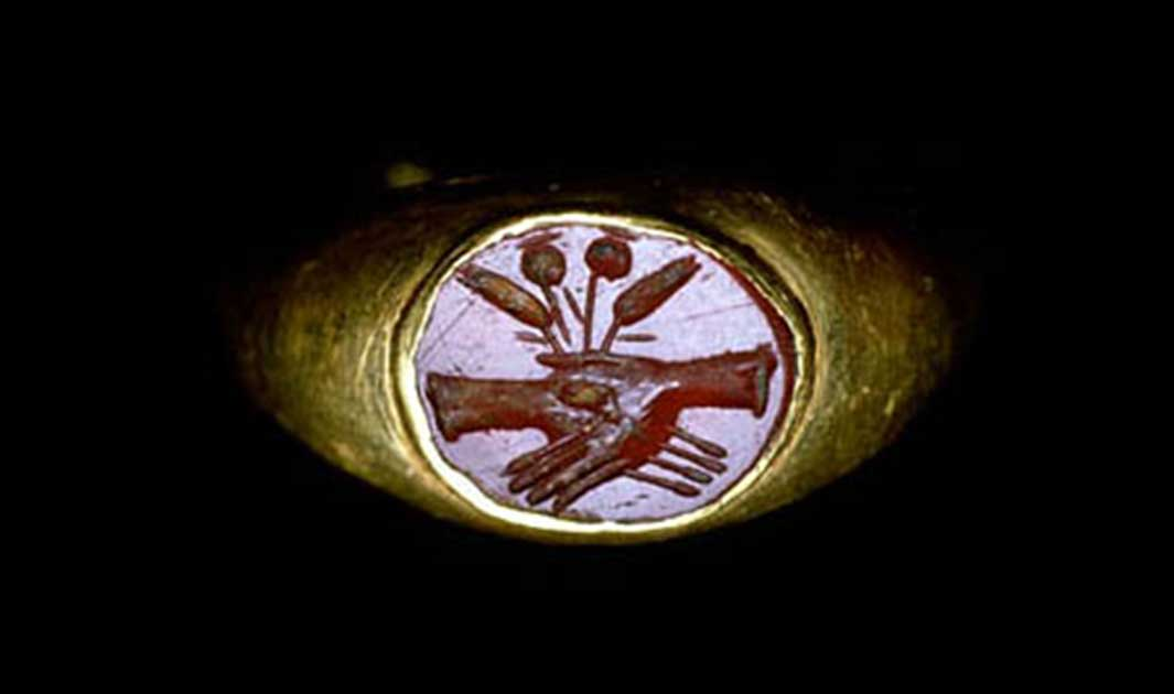 engagement rings, ancient rome