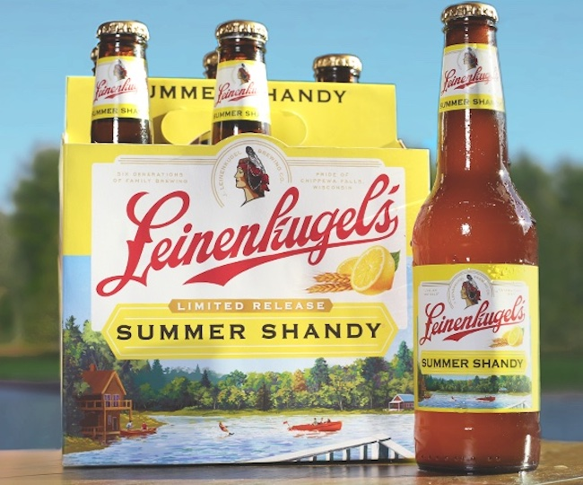 Summer Shandy beer