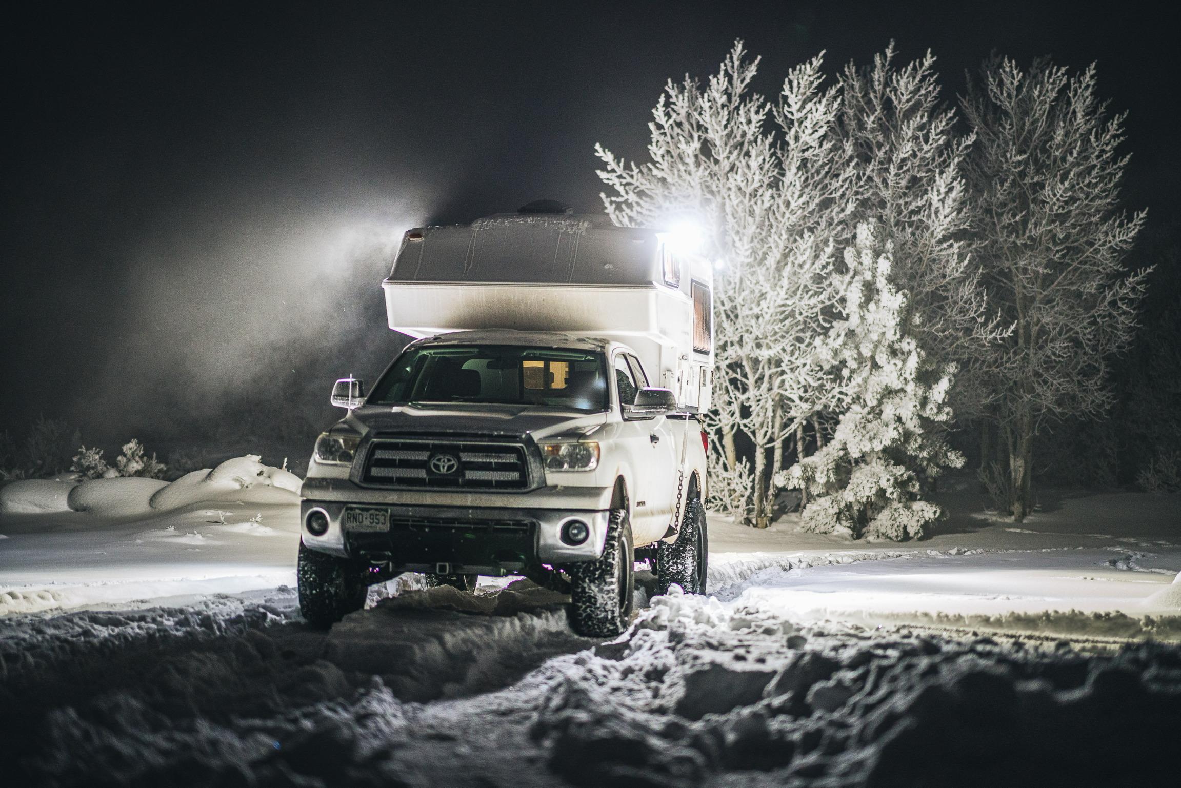 Kelly Lund's Tundra Northern Lite Camper