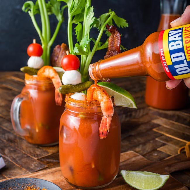 Old Bay Bloody Marys