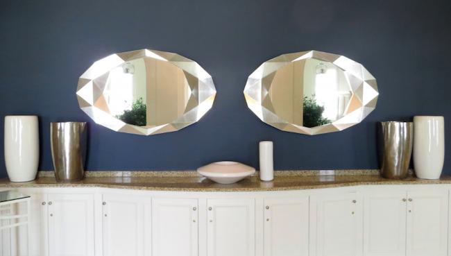 big bathroom mirrors