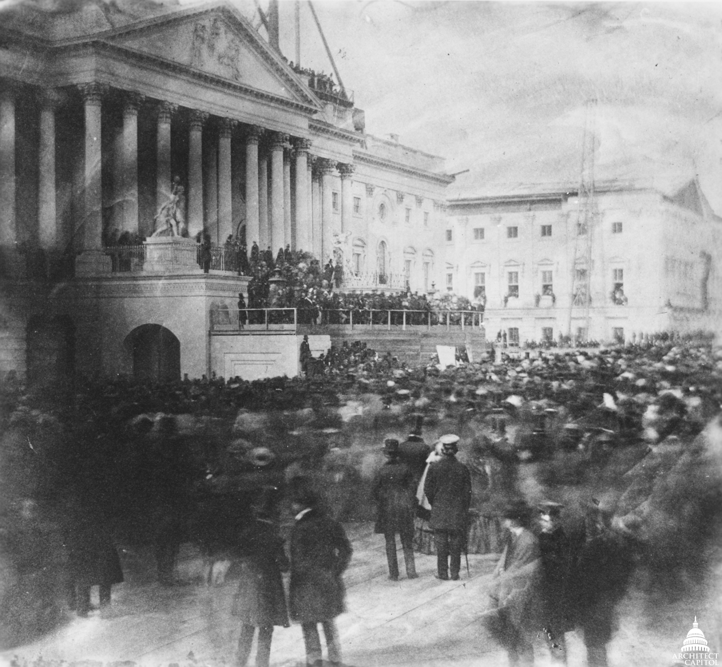 james buchanan inauguration