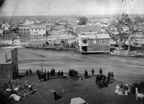 denver 1864 flood