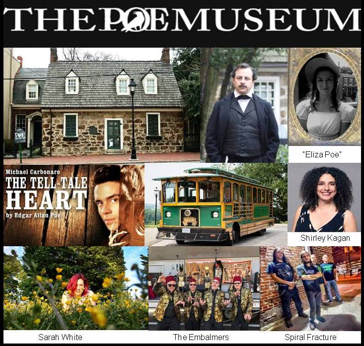 Poe Museum Birthday Bash January 18 2020 Richmond Virginia Edgar Allan Poe