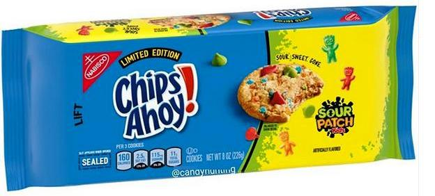 Chips Ahoy Reese's Pieces Chocolate Chip Cookies Release 2020