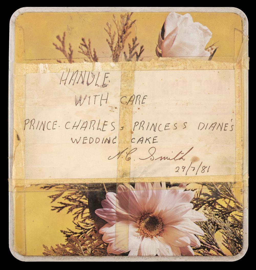 princess diana wedding cake