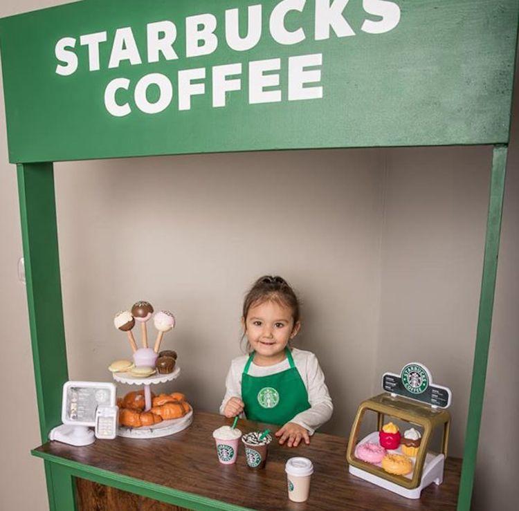 miniature Starbucks