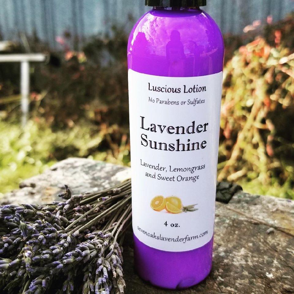 lavender, lotion