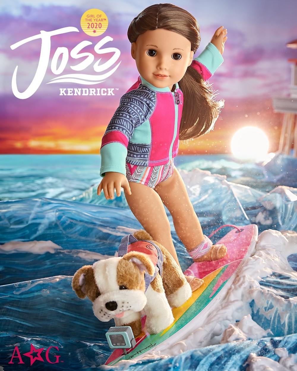 Joss Kendrick, American Girl 2020 Girl of the Year