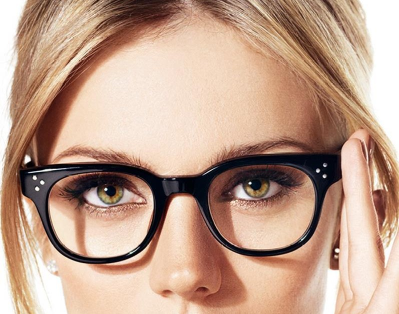 eyeglasses, woman