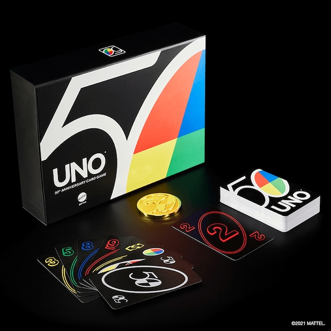 UNO 50th Anniversary Set