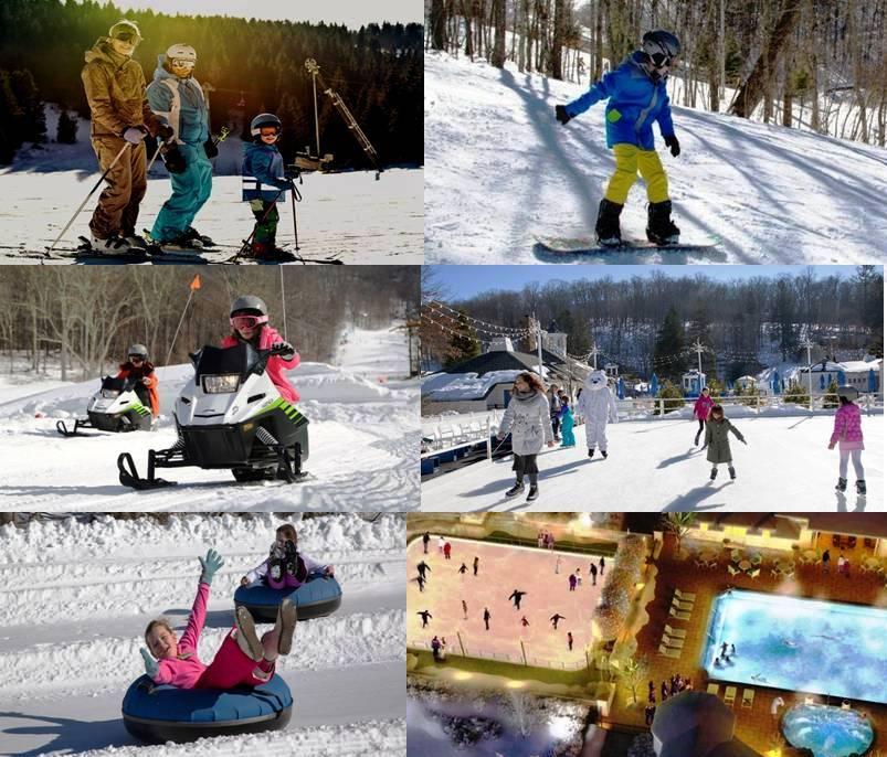 Omni-Homestead Resort Winter Hot Springs, Virginia Winter Get-aways Skiing Snowboarding Resort