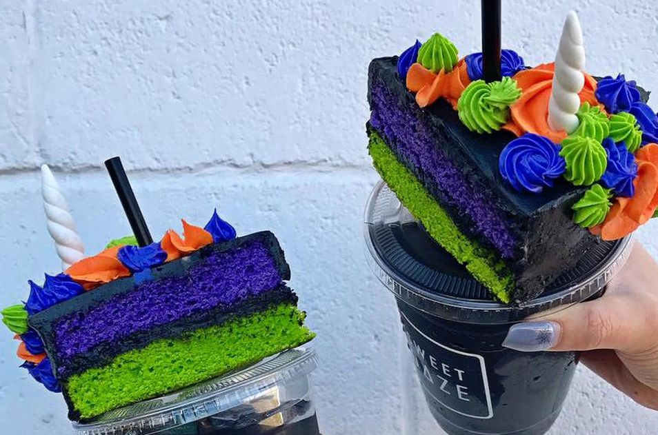 sweet daze dallas unicorn cake