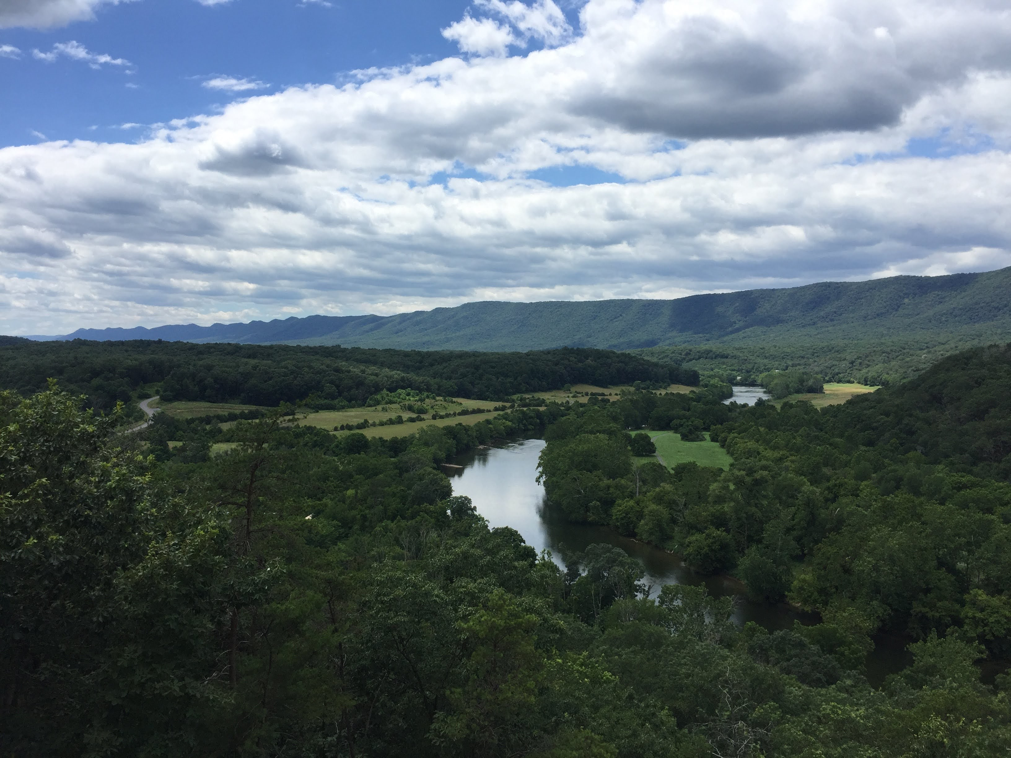 Shenandoah River State Park view from Cullers Overlook again