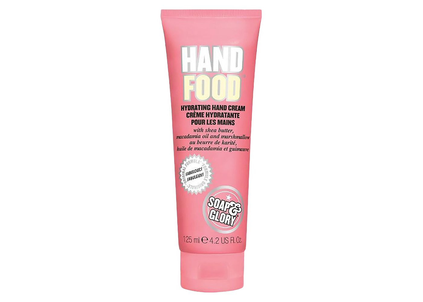 Soap and Glory hand food lotion