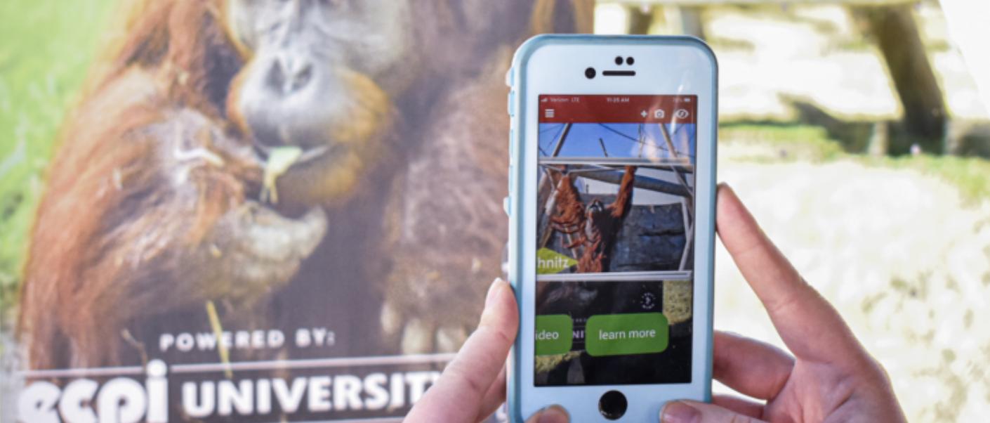 Virginia Zoo augmented reality tour