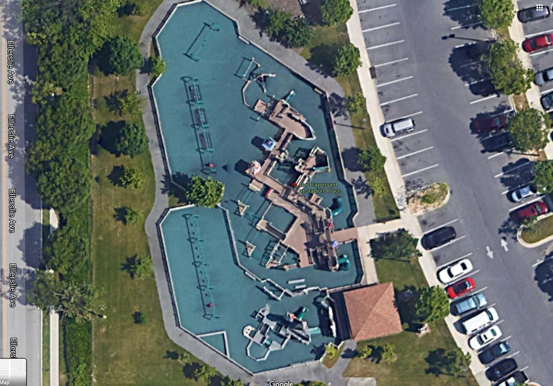 playground aerial view
