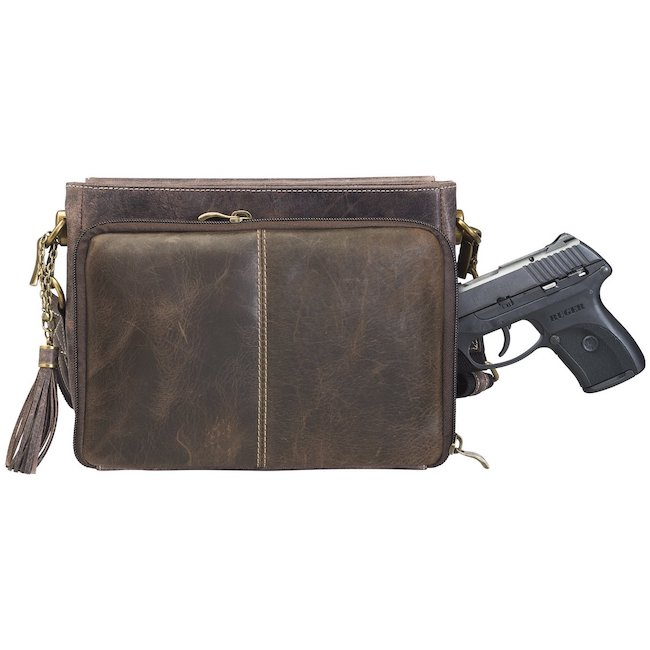 gun in purse