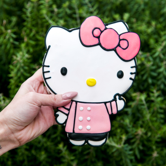 Large Hello Kitty Cookie