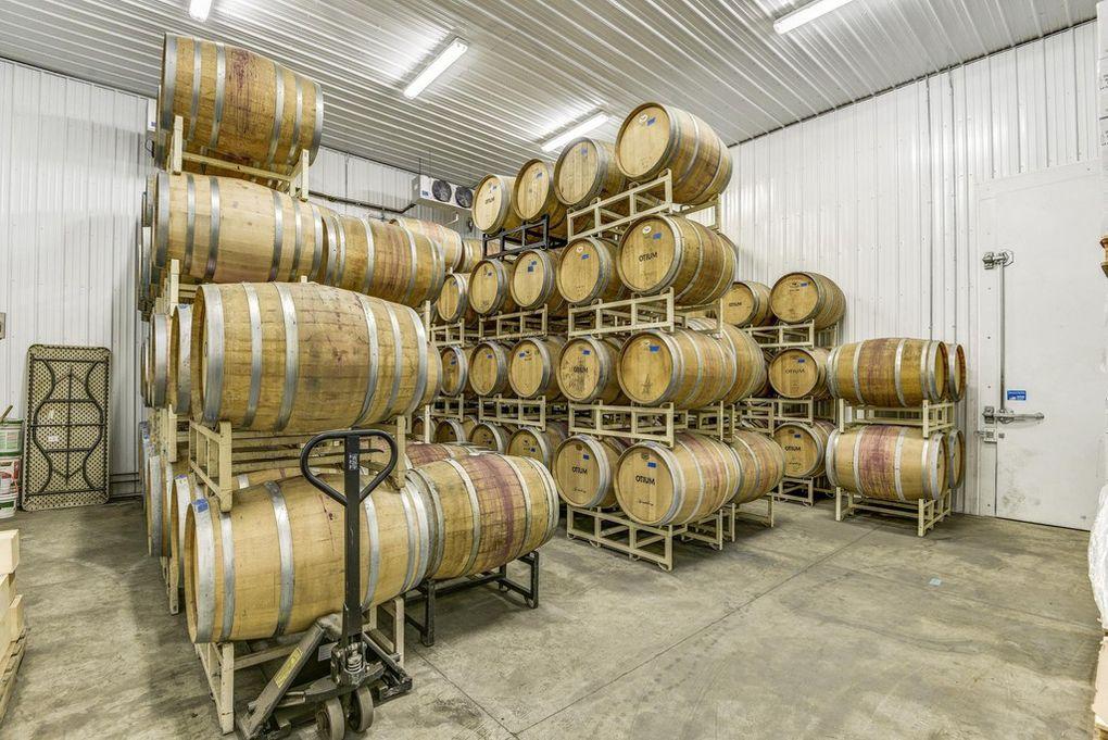 wine casks, barrels