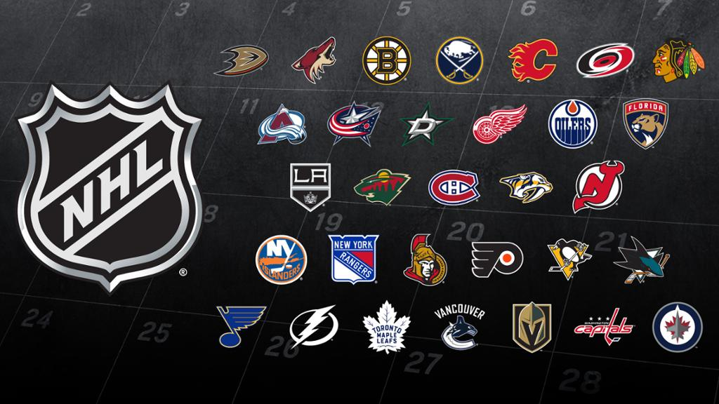 NHL Logo and Sports Teams