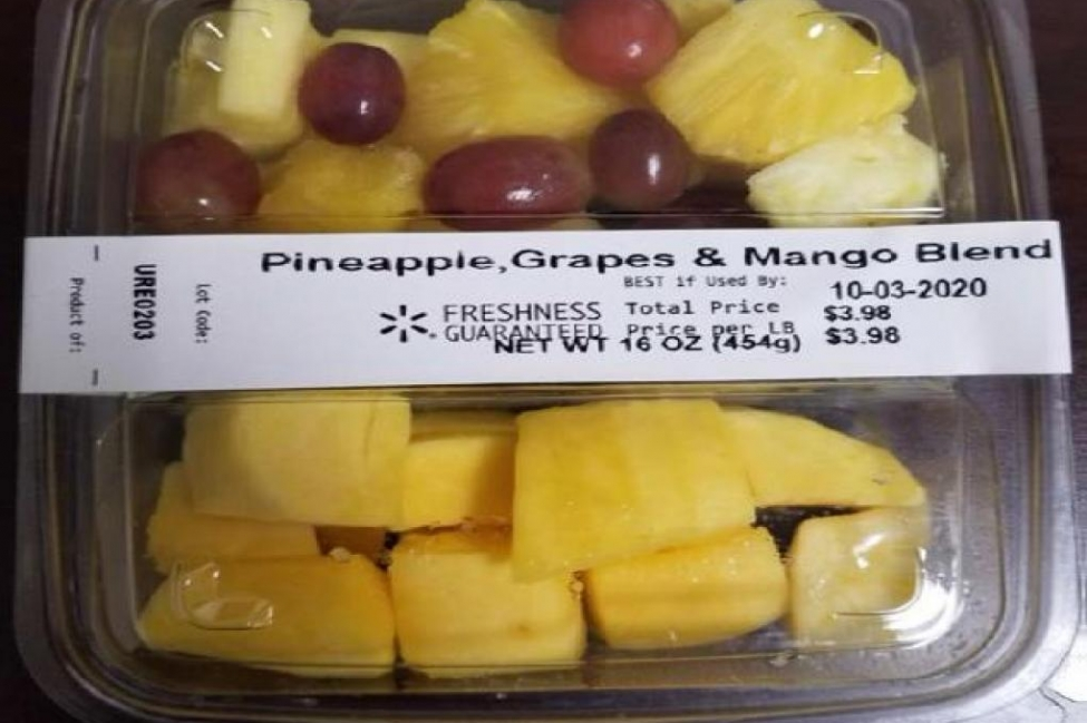 Recalled fruit