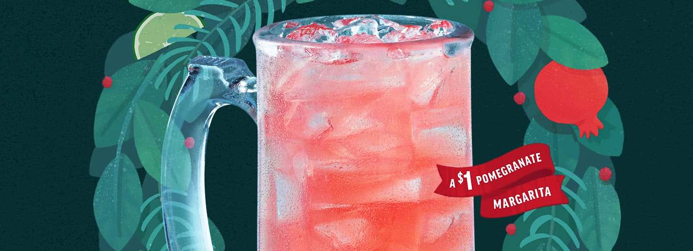 Applebee's $1 December Drink Merry Margarita Montly Drink