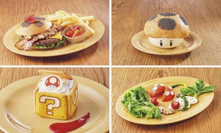 Mario-inspired food