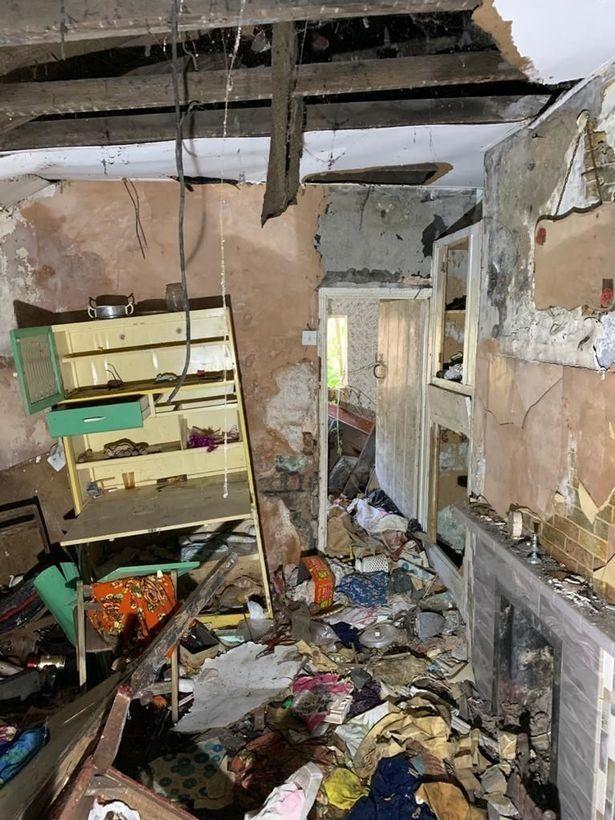 dilapidated kitchen